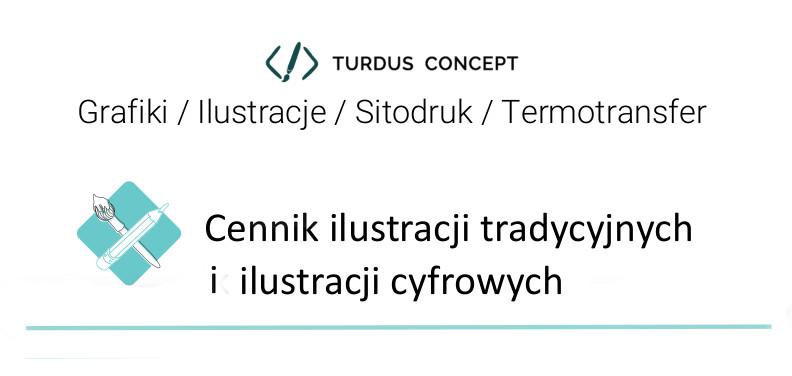 cennik ilustracji Turdus Concept